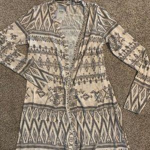 Lightweight Aztec Cardigan